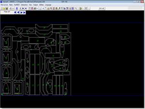 automatic true shape cad cam nesting for cnc cutting machines