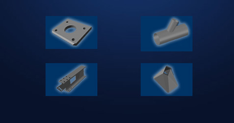 create profile parts for plasma and oxy cutting